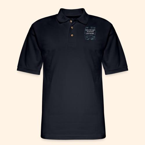 Dominant Meta-Narrative - Men's Pique Polo Shirt