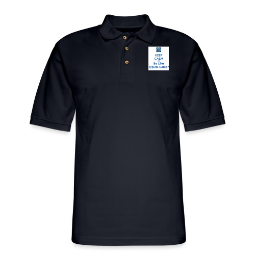 keep calm and be like typical gamer - Men's Pique Polo Shirt