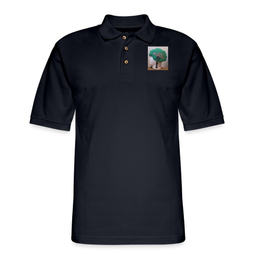 Sleep Neuralizer Helmet Model - Men's Pique Polo Shirt