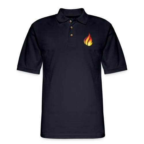 HL7 FHIR Flame Logo - Men's Pique Polo Shirt