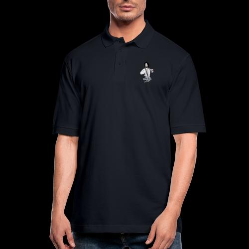 CHARLEY IN CHARGE - Men's Pique Polo Shirt