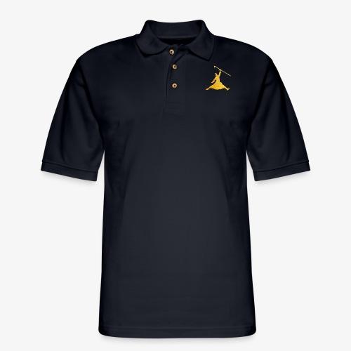 Jeeta Jordan Gold - Men's Pique Polo Shirt