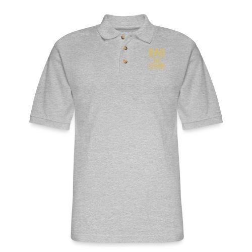 dad the legend - Men's Pique Polo Shirt