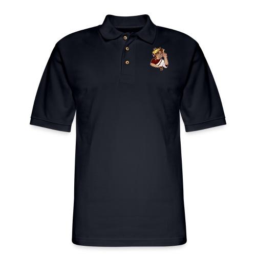 GodmezLogo - Men's Pique Polo Shirt