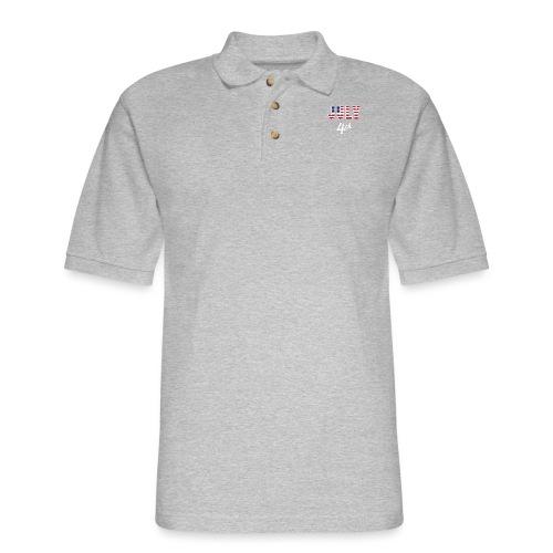 July 4th - Men's Pique Polo Shirt