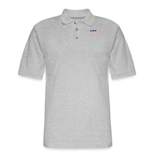 Groom US Flag - Men's Pique Polo Shirt