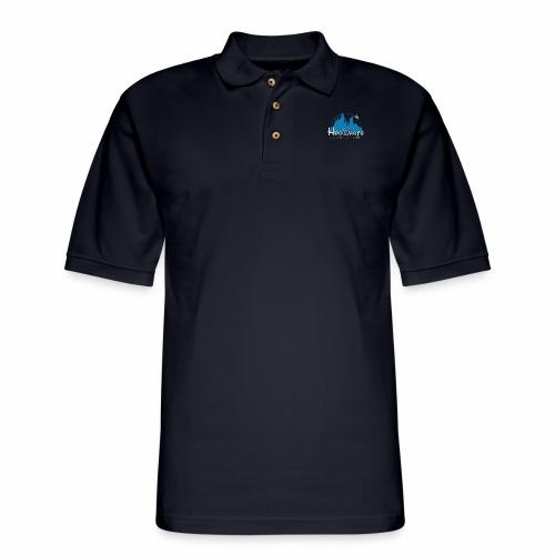 Castle Mashup - Men's Pique Polo Shirt