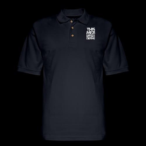 Words Do Not Define Me - Men's Pique Polo Shirt