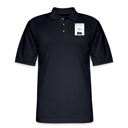 RxSleep Science complete logo - Men's Pique Polo Shirt