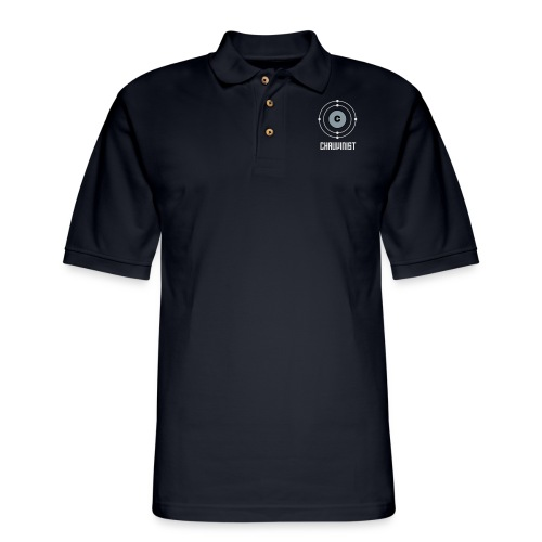 Carbon Chauvinist Electron - Men's Pique Polo Shirt