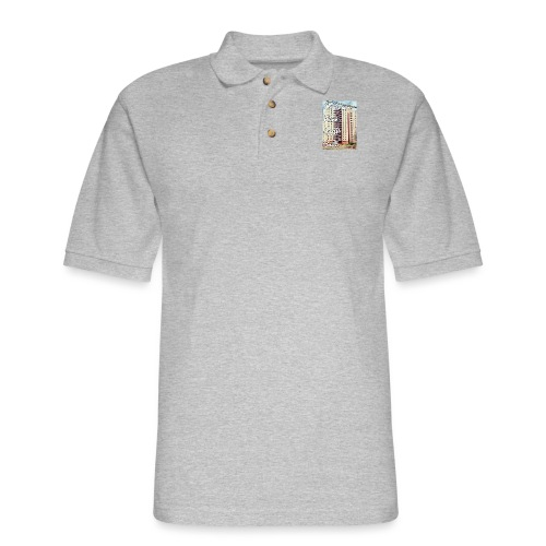 Paterson Born CCP Built - Men's Pique Polo Shirt