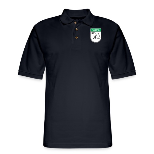 Tampa Toll - Men's Pique Polo Shirt