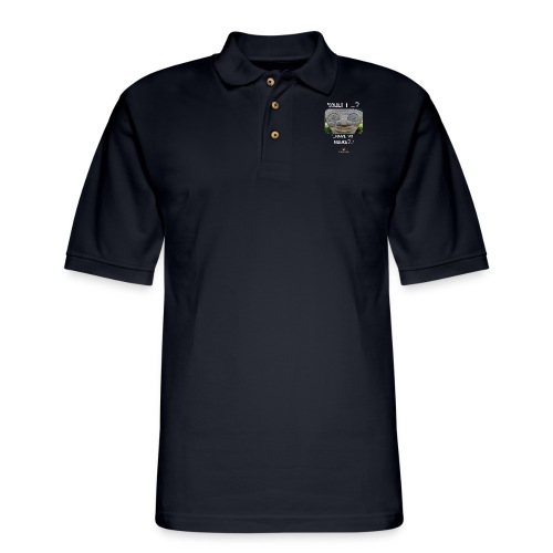 Alien Could I have your Number - Men's Pique Polo Shirt