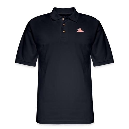 goodbye - Men's Pique Polo Shirt