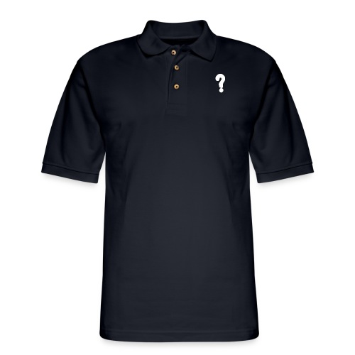 white - Men's Pique Polo Shirt