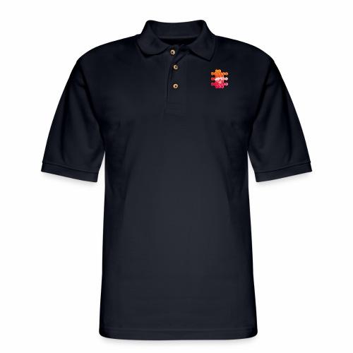 Hex Pocket Rocket - Men's Pique Polo Shirt
