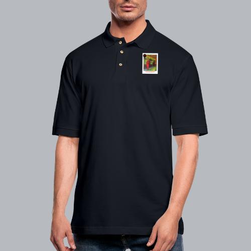 Decharlene - Men's Pique Polo Shirt