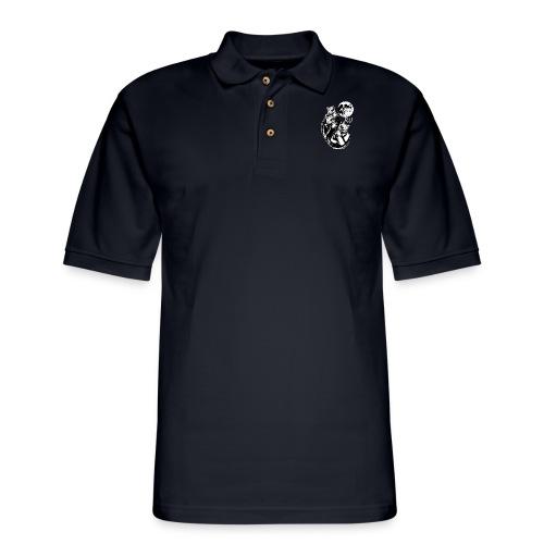 Ryu Crazy Dogs - Men's Pique Polo Shirt