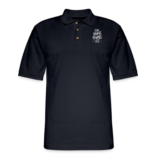 Slow down and enjoy life - Men's Pique Polo Shirt