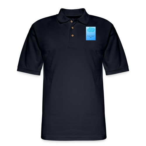 MOM I THINK THE SKIES ARE HAPPY WITH ME TODAY - Men's Pique Polo Shirt