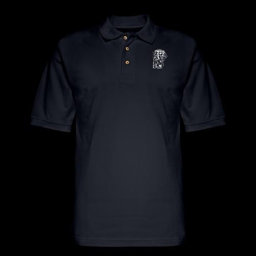 Retro Gamer Head - Men's Pique Polo Shirt