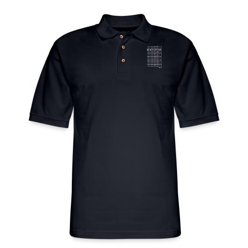 Believe Survivors Shirt - Men's Pique Polo Shirt