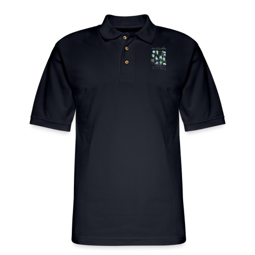 Man is born Free - Men's Pique Polo Shirt