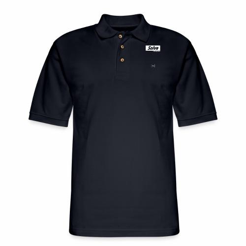 Solve the Equation [fbt] - Men's Pique Polo Shirt