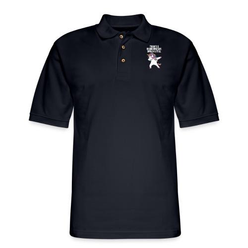 Unicorn DAB T-shirt - Men's Pique Polo Shirt