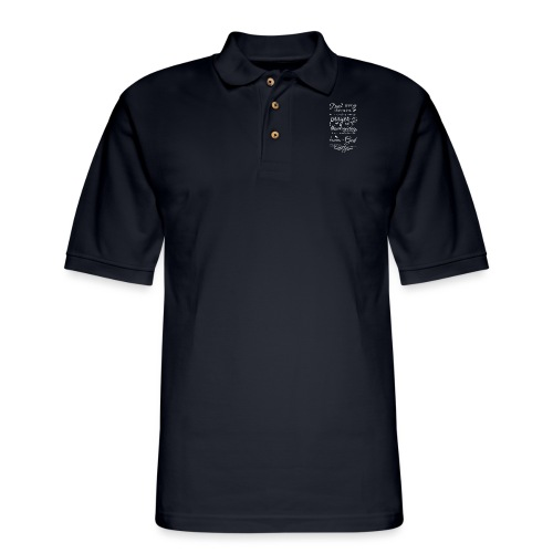 philippians 4:6 - Men's Pique Polo Shirt