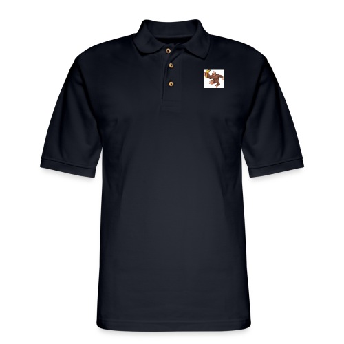 louiz fly out - Men's Pique Polo Shirt