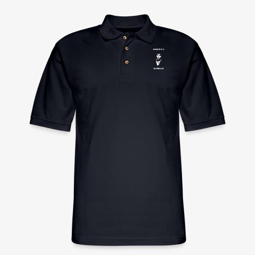 Basser Design - Men's Pique Polo Shirt