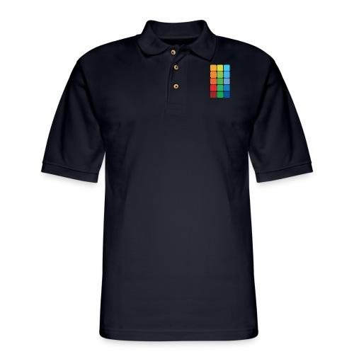 Square color - Men's Pique Polo Shirt