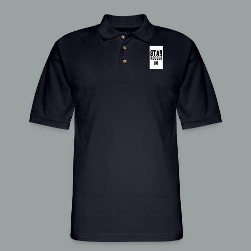 Stay Pugged In Clothing - Men's Pique Polo Shirt