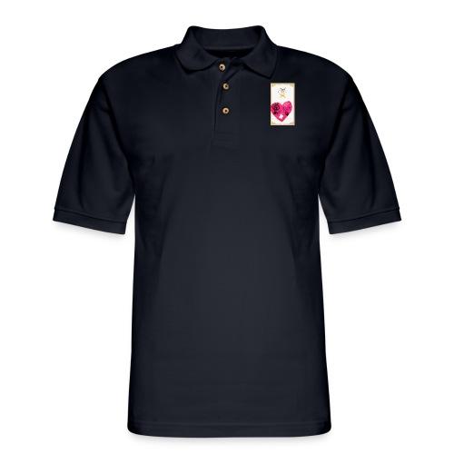 Heart of Economy 1 - Men's Pique Polo Shirt