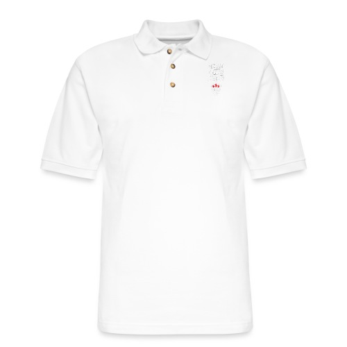 Best Gym Ever White and Red - Men's Pique Polo Shirt