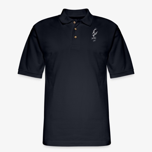 The Bird - Men's - Men's Pique Polo Shirt