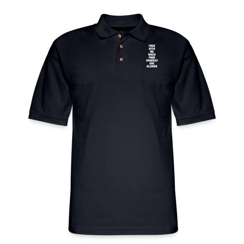 Chakras Aligned - Men's Pique Polo Shirt