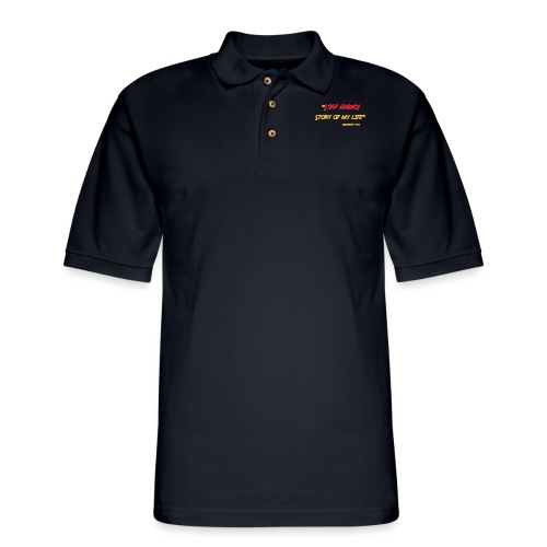 Logoed back with low ammo front - Men's Pique Polo Shirt