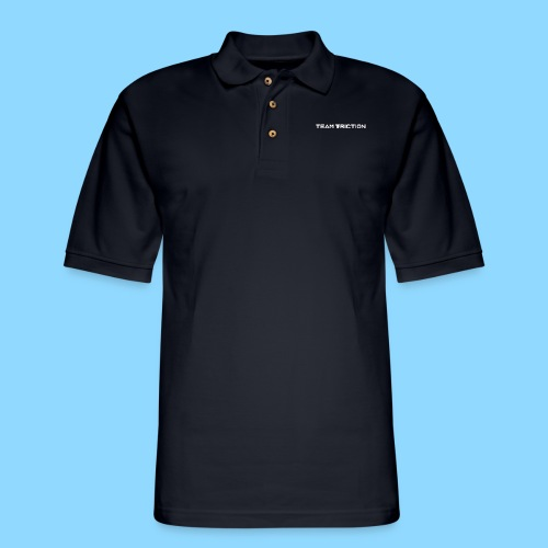 Team Friction 30 million Front and Back - Men's Pique Polo Shirt