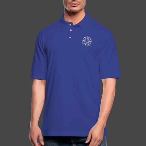 Bolts & Stars - Men's Pique Polo Shirt
