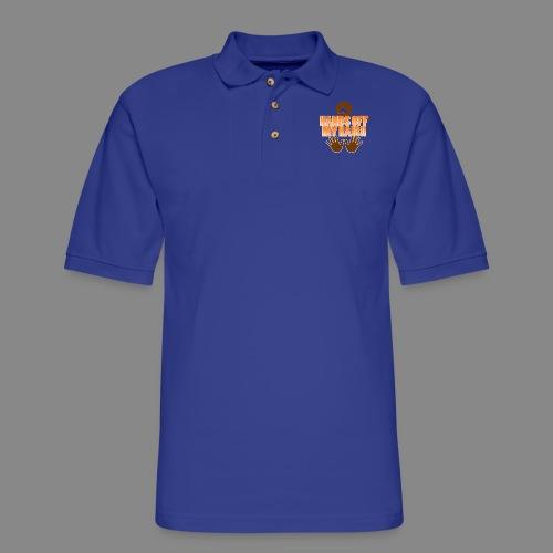 Hands Off! - Men's Pique Polo Shirt