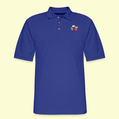 Worried potato - Men's Pique Polo Shirt