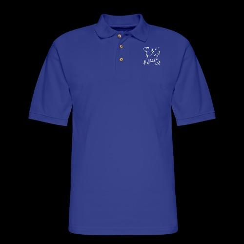 Onnuyaani Aaiyyan Stones Yantra - Men's Pique Polo Shirt