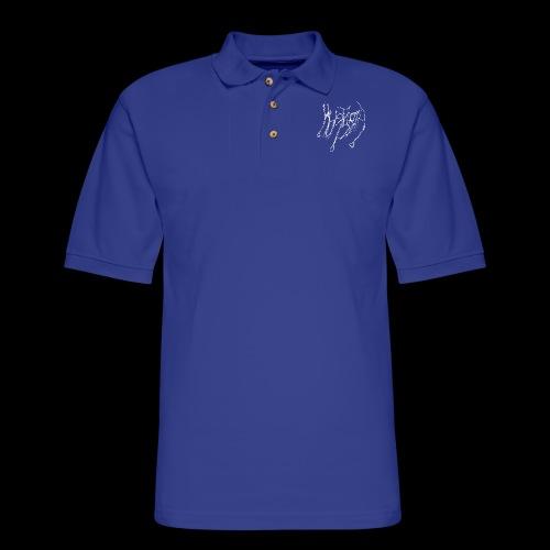 Logo Hoodie - Men's Pique Polo Shirt