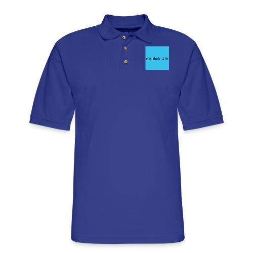 condude logo - Men's Pique Polo Shirt