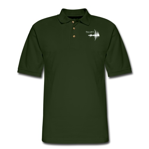 Flow With It - Men's Pique Polo Shirt