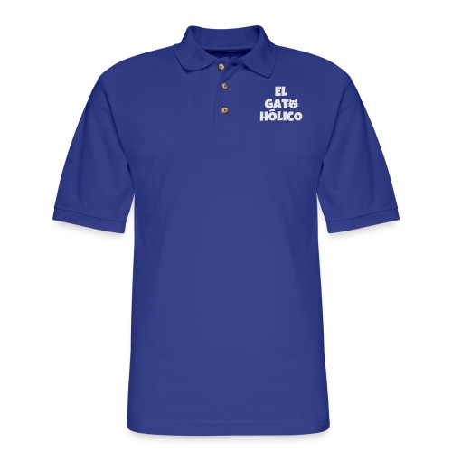El gato holico - Men's Pique Polo Shirt