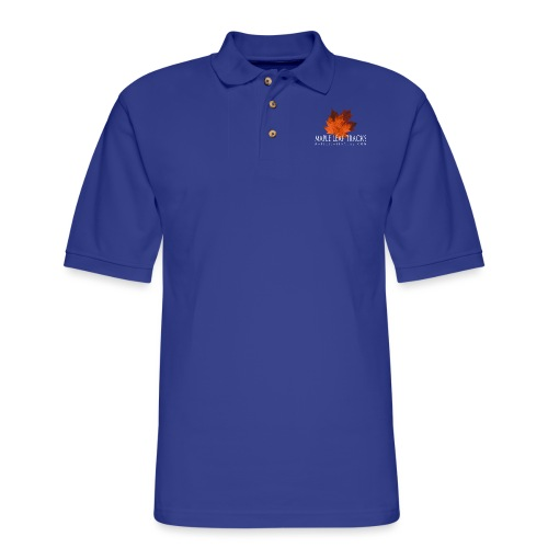 MLT Logo B - Men's Pique Polo Shirt