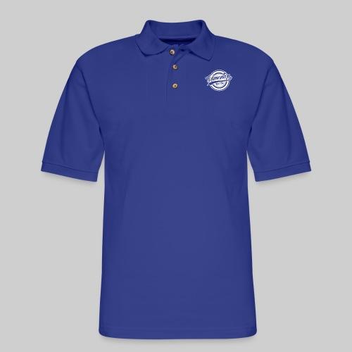 EVC White - Men's Pique Polo Shirt